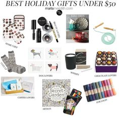 Best Holiday Gifts Under $50 | MarlaMeridith.com ( @marlameridith )