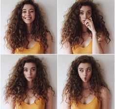 My hair looks like this – wavy hair naturally Cute Curly Hairstyles, Short Curly Hair, Curly Girl, Wavy Hair, Short Hair Styles, Natural Hair Styles, Natural Curls, Wavy Curls, Curls Hair