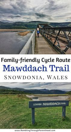 Cycle (or walk) on the Mawddach Trail, Snowdonia, Wales. The Mawddach trail is a cycling/walking path that goes 9.5 miles from Dolgellau to Barmouth along a disused railway track on the southern edge of the stunning Mawddach estuary. It is mostly car-free and flat, which makes it ideal for a family bike ride. Here is what you can expect on the Mawddach trail in Snowdonia, Wales.