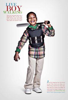 Illinois Council against Handgun Violence - gun violence prevention ad.