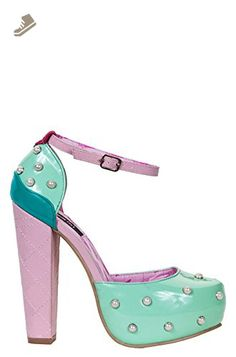 Iron Fist Women's Lick Me Platform Boot, Mint, 9 M US - Iron fist shoes for women (*Amazon Partner-Link)