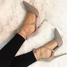 Hot Lace Up Pointed Toe Heels