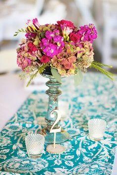 Impression for a Hot Pink / Fuchsia Wedding