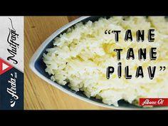 Tane Tane Pilav Nasıl Yapılır? | Pirinç Pilavının Püf Noktaları  Ardan  Videolu Tarif Cheese, Food, Youtube, Recipes With Rice, Essen, Meals, Yemek, Youtubers, Eten