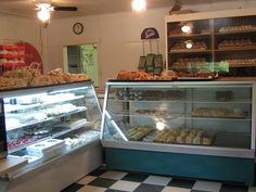 Einfeld's bakery...Victoria Beach face cookies are the best in the world. Also run by family members...:0)