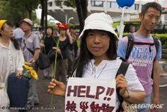 Greenpeace pide al Gobierno de Japón que proteja a las personas y al medio ambiente de los vertidos radiactivos de Fukushima   Greenpeace Es...