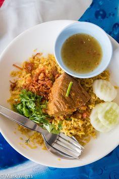 Khao Soi Islam (ร้านข้าวซอยอิสลาม) in Chiang Mai - Dont Miss Their Biryani http://www.eatingthaifood.com/2014/07/khao-soi-islam-chiang-mai/