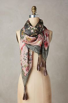 Silk Jardin Scarf - anthropologie.com