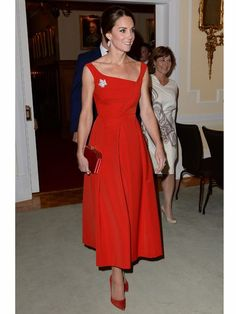 Canada Kate! 3 Red Dresses in 3 Days| The British Royals, The Royals, Kate Middleton, Prince William, Queen Elizabeth