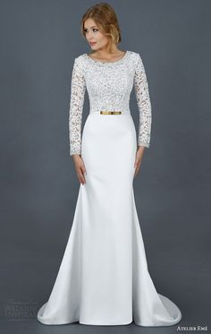 Atelier Eme 2016 Wedding Dresses | Wedding Inspirasi