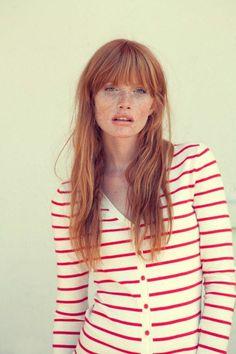 Risultati immagini per capelli rosso chiaro