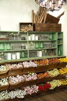 Spring Installation - Magnolia Market: shelving, bins & color