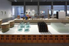 tani_16_Keizo_Kioku Exhibition Space, Pavilion, Conference Room, Table, Display, Furniture, Gallery, Design, Home Decor