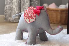 CREATE STUDIO: How to Make An Elephant Doorstop (that's too cute for the floor!)
