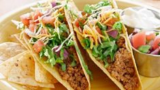 Turkey mince is a fantastic, low fat and tasty alternative to beef mince. We've picked out 22 of our favourite healthy turkey mince recipes for you to try. Healthy Turkey Mince Recipes, Healthy Recipes For Diabetics, Diabetic Recipes, Mexican Food Recipes, Taco Mince Recipe, Healthy Foods, Homemade Taco Seasoning, Homemade Tacos, Tortillas