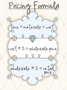 the pricing formula