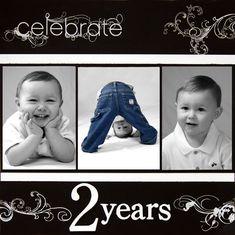 Celebrate 2 Years - Scrapbook.com
