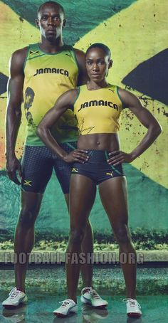 olympic track uniforms jamaica