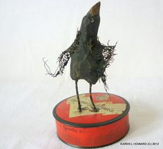 I Am WAY Over This Typewriter Tape Tin, by KarenLHoward,