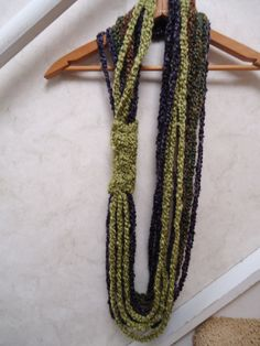 Crochet Chain Infinity Scarf by HippieHotel on Etsy, $15.00