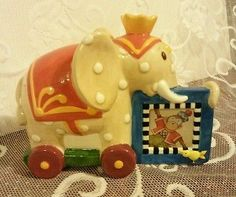 Vintage Mary Engelbreit Toy Elephant Picture Frame 1995 by Charpente in VGUC | eBay