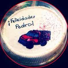 Happy birthday! Pedro!  #cake #party