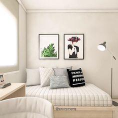 Eu amo a vibe desse quarto de hóspedes/home office: clean sem deixar de ter personalidade! Uma das minhas favoritas! #3D #projeto #quarto #bedroom #hóspedes #homeoffice  #funcional  #stylish #arquiteturaresidencial #housearchitecture #interiorarchitecture #arquiteturadeinteriores #detalhes #decor #interiordesign #designdeinteriores #architecture #archlovers #arquitetura #instagood #paolacuryarquiteta #archdaily #instacool #colors #clean #contemporary #interiores #cool