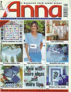 Macramé Crochet Lace from the July 1998 edition of Anna Burda