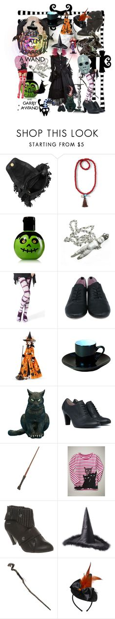 """Halloween Witch"" by crysta1 on Polyvore featuring See by Chloé, Vena Cava, Decree, Leg Avenue, Happy Socks, Les Lolitas, BIA Cordon Bleu, Hot Topic, Gap and Firetrap"