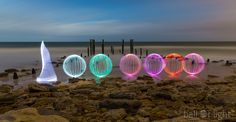 Light Painting - Light Art - Denis Smith - Canon EOS 5D - Setting: f/2.8, 24.0 mm, ISO100, 570 - 21/08/2013
