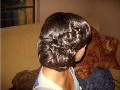 Rose pincurls
