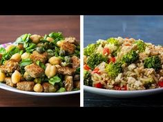10 Healthy Lunch Ideas For Weight Loss You are in the right place about Health vision board Here we offer you the most beautiful pictures about the Health skin you are looking for. When you examine the 10 Healthy Lunch Ideas For Weight Loss part of the … Healthy Recipes, Rice Recipes, Lunch Recipes, Chicken Recipes, Cooking Recipes, Easy Recipes, Easy Salads, Easy Meals, Weight Loss Snacks