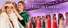 Miss International 2014 – Live USTREAM Coverage | OPBPageants Beauty Pageant, Live, Pageants