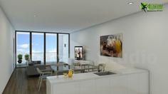 #Modern #Living #Room and #Kitchen #Design