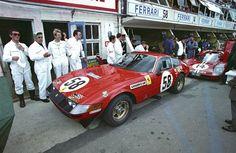 rainbow in your eyes | rhubarbes: Ferrari 'Daytona' Competizione - 1971...