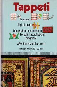Tappeti 350 illustrazioni a colori Mondadori Editore 1982 5958