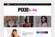 ( 50% Off ) Pixie - WP Blog Theme  @creativework247