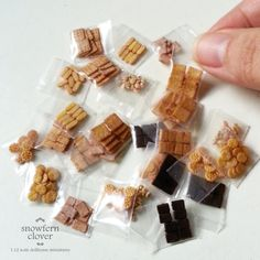 1:12 scale dollhouse miniature packaged biscuits by Snowfern.deviantart.com on @deviantART