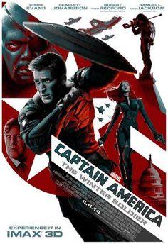 Captain America Winter Soldier Movie Poster Puzzle Fun-Size 120 pcs