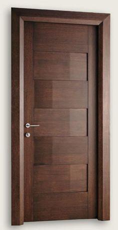 Giò Pomodoro 1927/5/QQ Wenge Stained Oak Giò Pomodoro© Modern Interior Doors | Italian Luxury Interior Doors | New Design Porte Metropolis