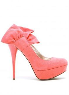 Coral wedding shoes for me and my flower girls!!!  #dawninvitescontest