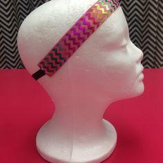 Blingy Chervron Headbadn - pink Brady Bands