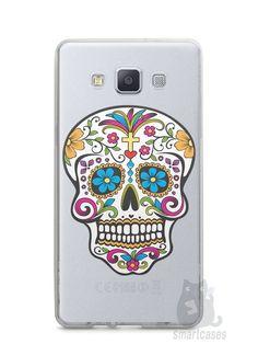 Capa Capinha Samsung A7 2015 Caveira Mexicana - SmartCases - Acessórios para celulares e tablets :)