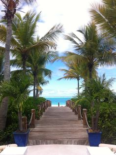 Path to paradise. On Turks and Caicos Islands.