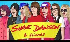 Aunt hilda, sdeezy, shanaynay, shane dawson, shanes mom, ned, and paris hilton XD