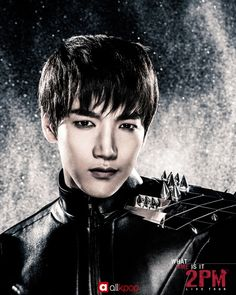 2PM reveals Jun.K's poster for upcoming concert