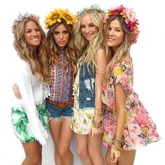 Boho for summer! Hippie Style, Bohemian Style, Boho Chic, Bohemian Summer, Meghan Rienks, Candice King, Summer Outfits, Cute Outfits, Festival Looks