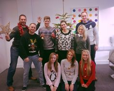 We are taking part in #ChristmasJumperDay in the office today to raise money for Save the Children UK :)