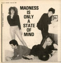 The Cramps, Sounds, March 1980