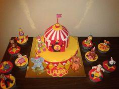 circus cake www.facebook.com/criaideia
